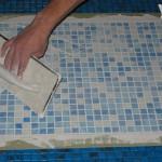 затирка мозаичной плитки