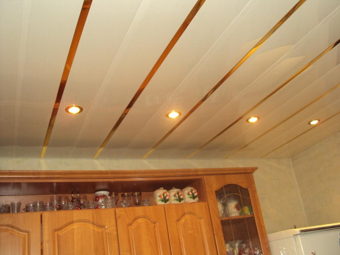 Потолки для кухни своими руками