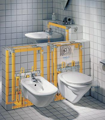 Система инсталяции для сантехники