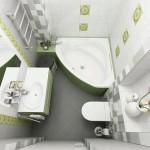 Дизайн-проект для маленькой ванной комнаты