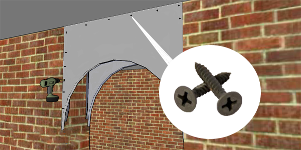 Создание арки из гипсокартона в дверном проеме