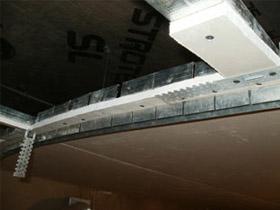 Закладочные профили для второго яруса потолка