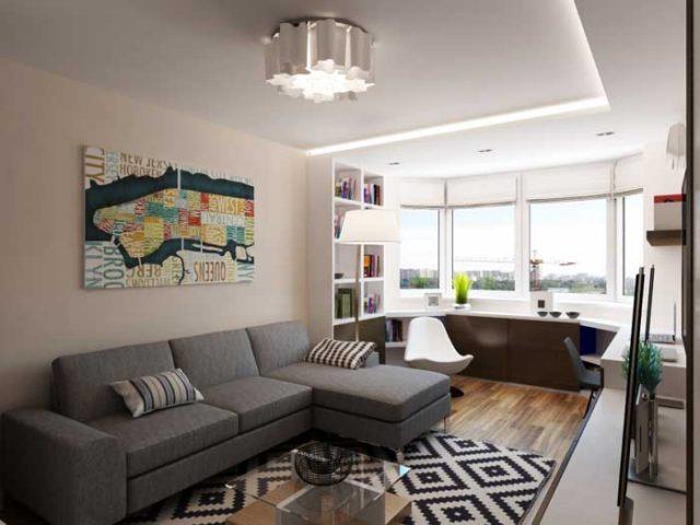 Как обставить однокомнатную квартиру идеи 40
