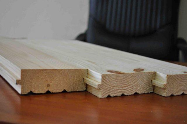 Шпунтованная доска для потолка размеры