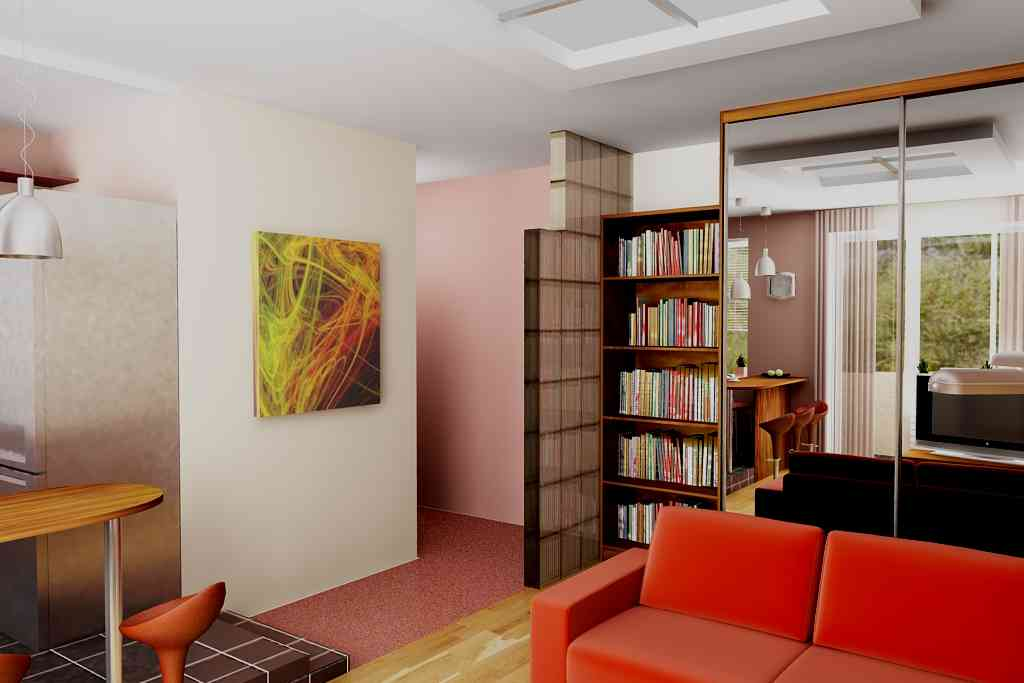 Интерьер маленькой комнаты 18 квадратов