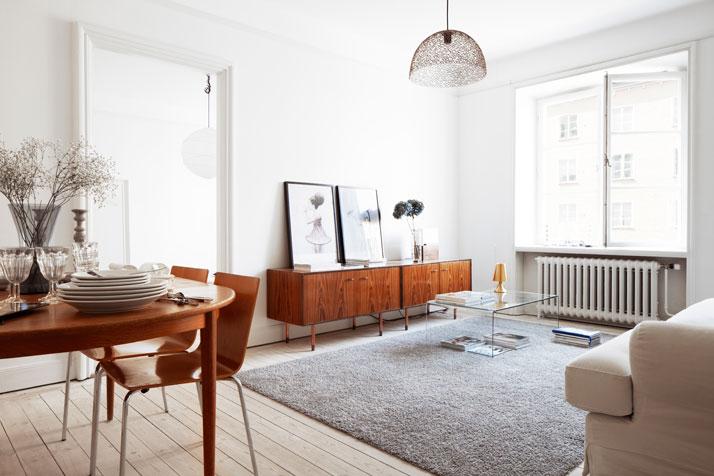 Гостиная в стиле шведский минимализм