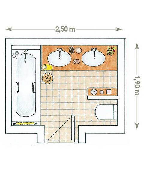 Дизайн санузла 4,75 кв. м.