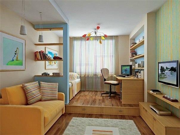 Перепланировка 2-комнатной : варианты, фото