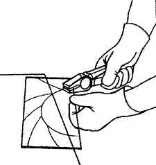 Как отрезать круглое стекло