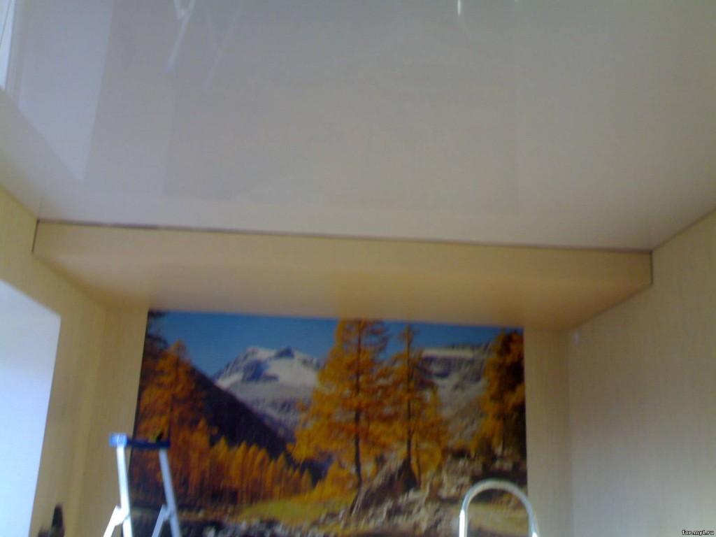 Результат работ - готовый ровный потолок за день