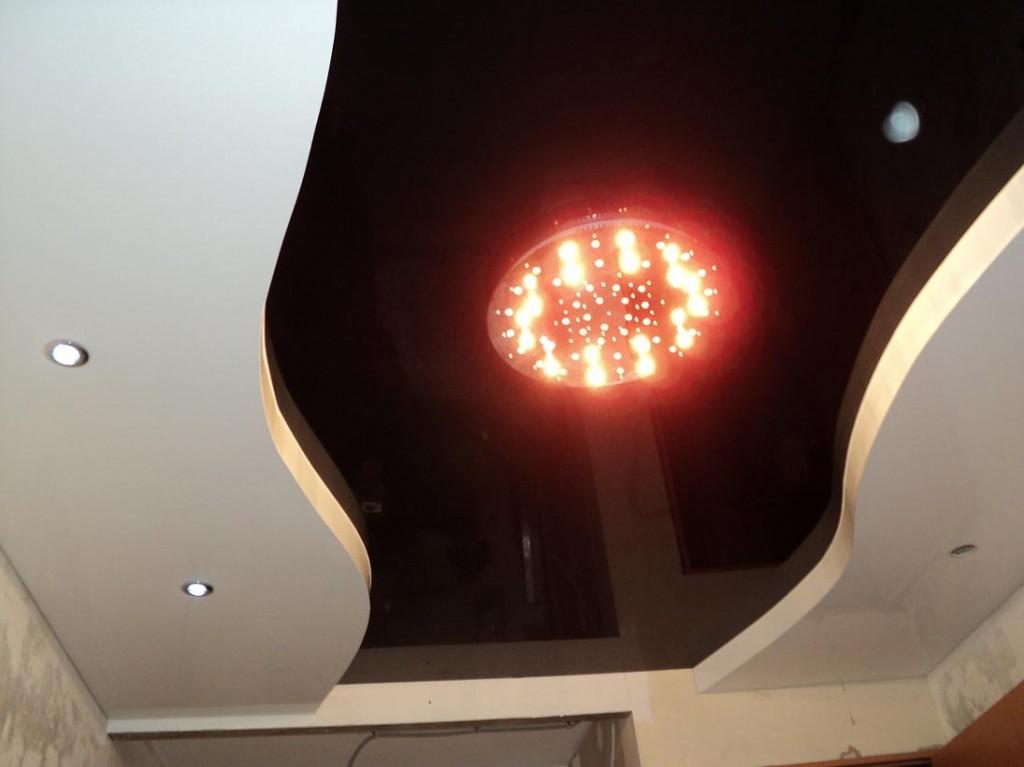 Двухуровневые натяжные потолки своими руками