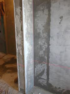 Штукатурка углов и дверных проемов