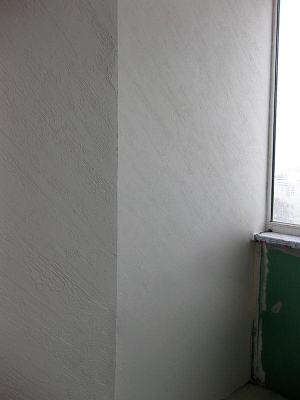Оштукатуренная стена
