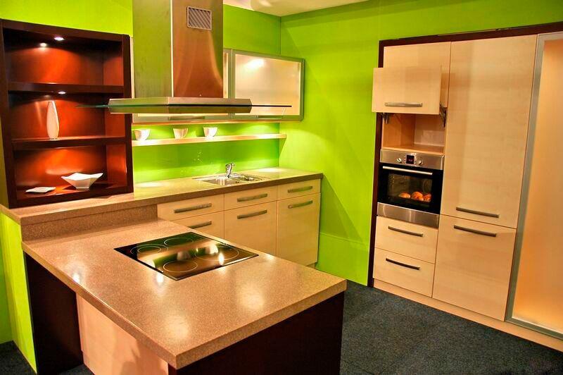 Какой цвет выбрать для кухни - яркие решения