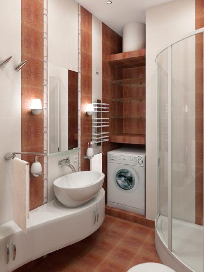 Фото маленькой ванной комнаты дизайн