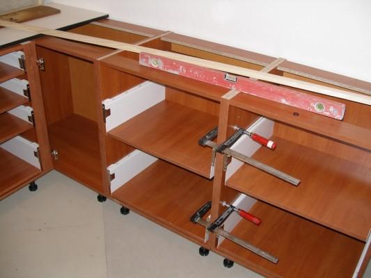 Сборка мебели кухни своими руками