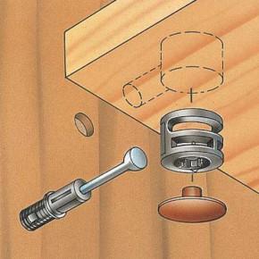 Как закрепить фасад на выдвижной шкаф