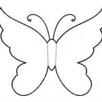 Декор стен бабочками своими руками трафареты