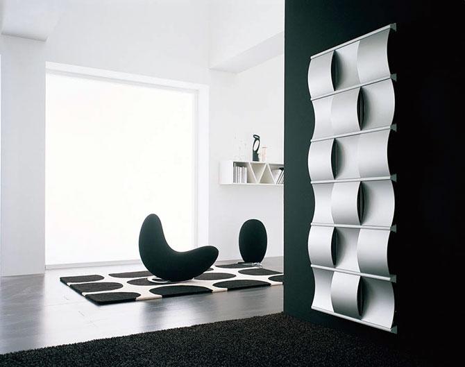 Современные дизайнерские радиаторы