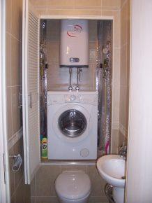 Дизайн ванной комнаты с унитазом и биде