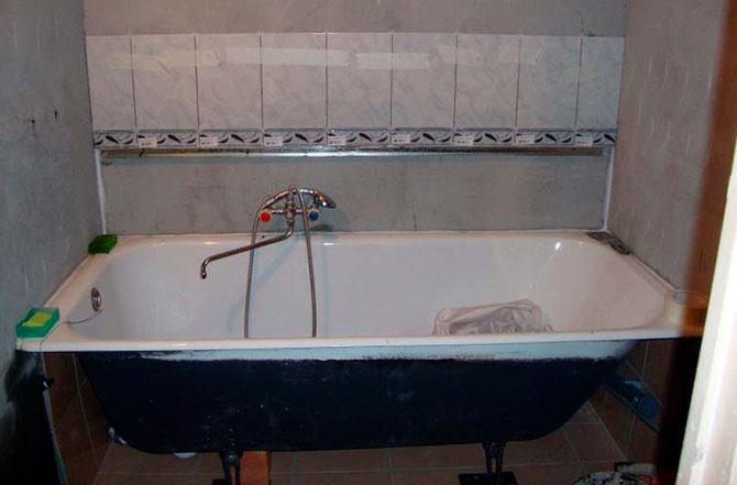 Чугун - самый надежный материал для ванны