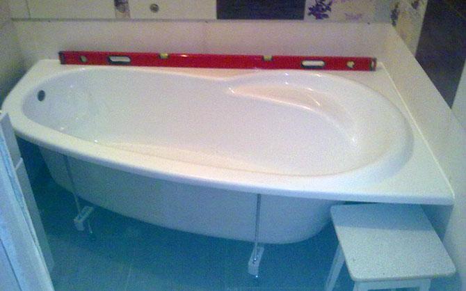 Качественная акриловая ванна