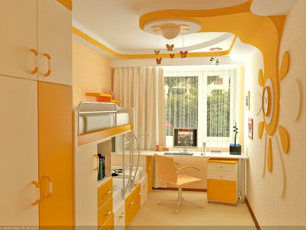 Хорошее освещение комнаты