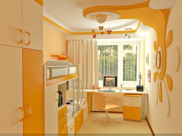 Дизайн интерьера детской комнаты для девочки (фото): http://remboo.ru/design/detskaya-komnata-dlya-devochki.html