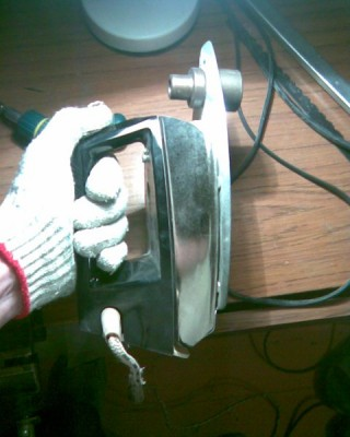Самодельный аппарат для сварки труб