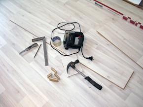 Укладка ламината на неровный деревянный пол: личный опыт, пошаговая инструкция