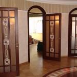 элитные межкомнатные двери из массива дуба