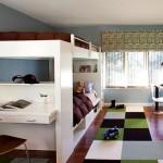 Большая двухъярусная кровать