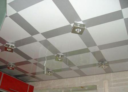 Кассетный потолок в квартире