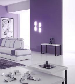 На фото показаны стеклообои в интерьере