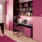 Розовый интерьер для девочек