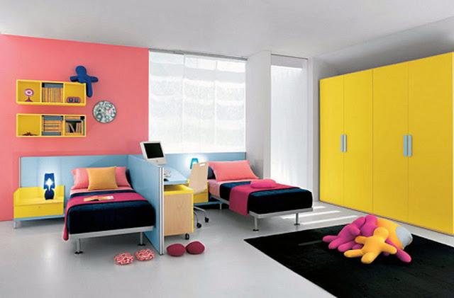 Красивый дизайн детской