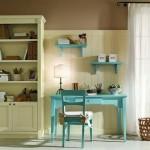 Зелено-голубая комната для ребенка