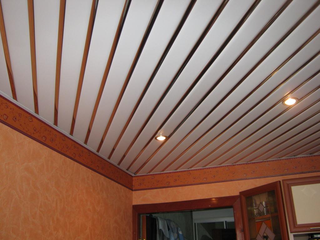 схема потолка кухни