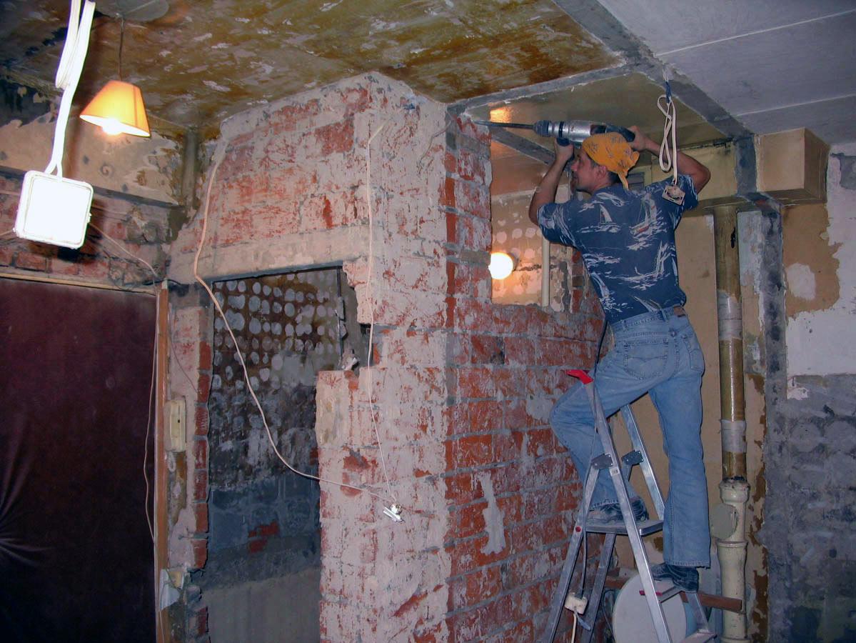 капитальный ремонт и перепланировка
