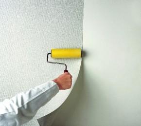 поклейка обоев на стены