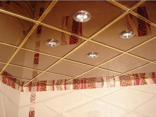 Кассетный потолок 30х30