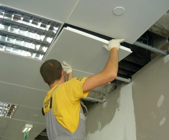 Схема сборки подвесного потолка фото 872