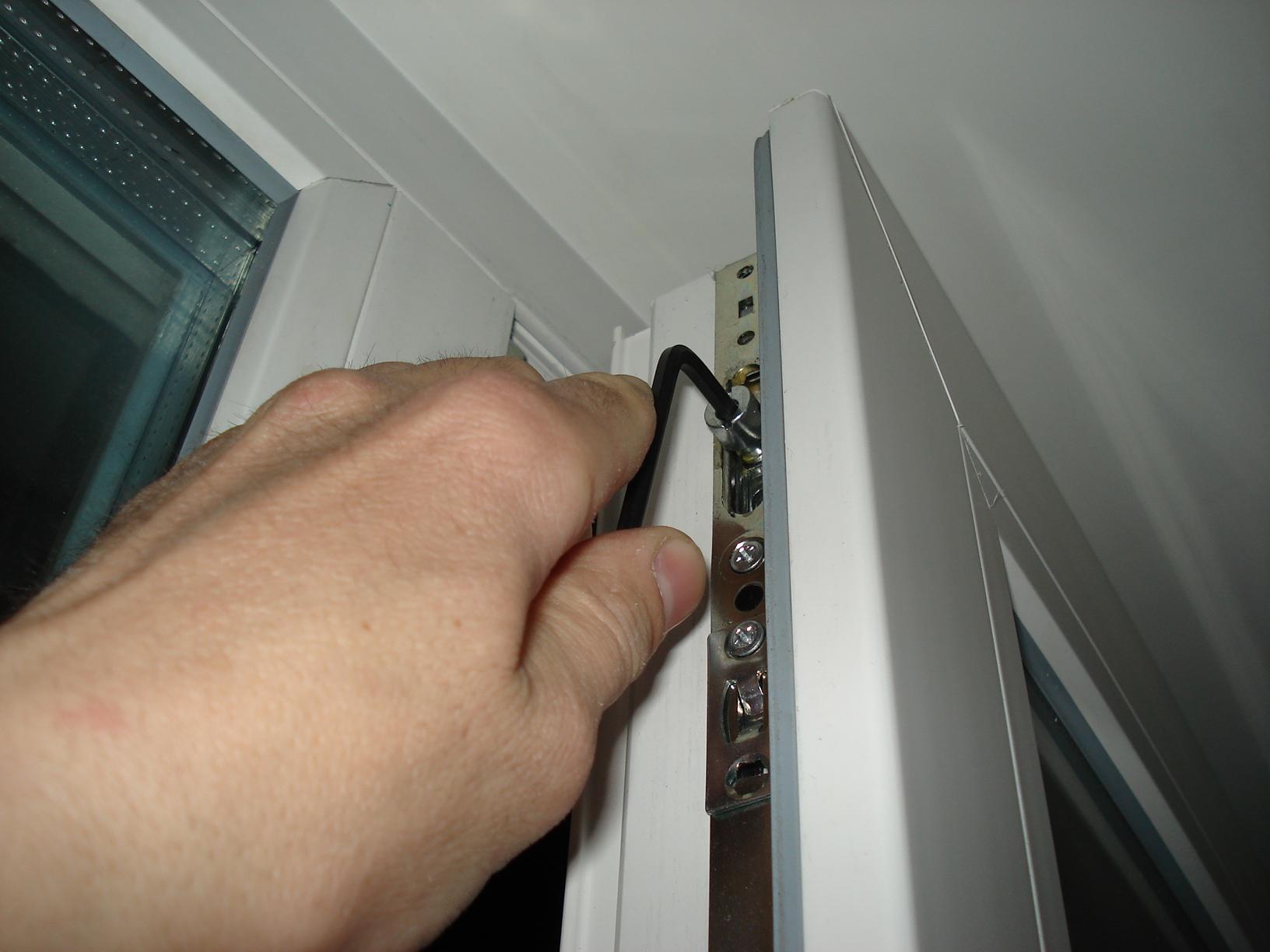 настройка металлопластикового окна