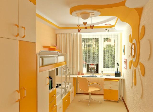 яркая и светлая комната для мальчиков