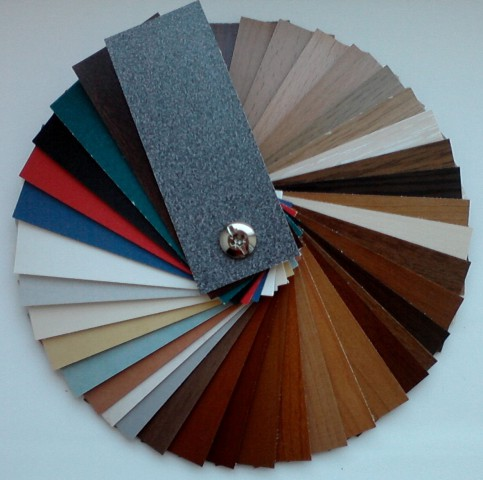 кромка рехау - цветовая палитра