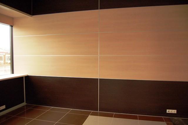 Отделка стен кухни с помощью МДФ панелей