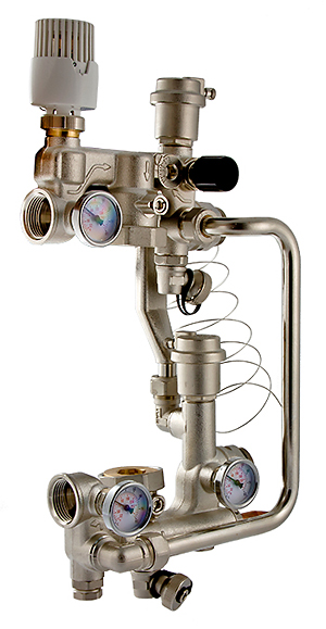 Valtec Combi с насосом 180 мм