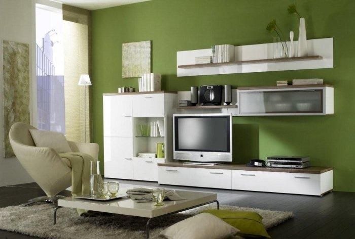 Универсальный белый цвет мебели подойдет для любого дизайна