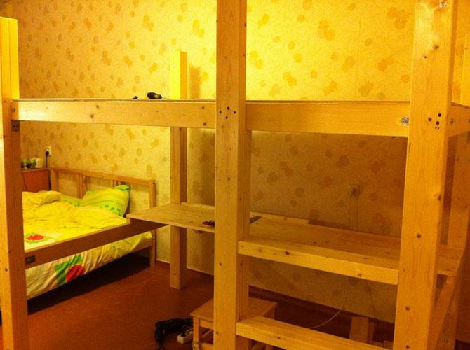 Двухъярусных кроватей сделанных своими руками