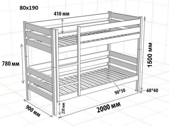 Двухъярусные кровати для взрослых сделанные своими руками